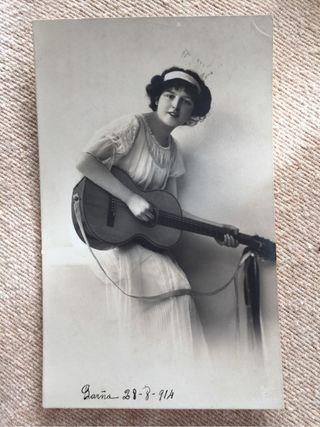 Postal Circulada 1914
