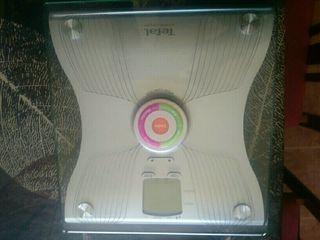 Báscula digital.