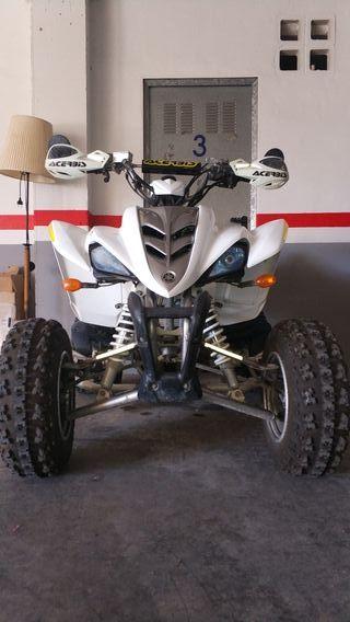 Quad Yamaha Raptor YFM 350R