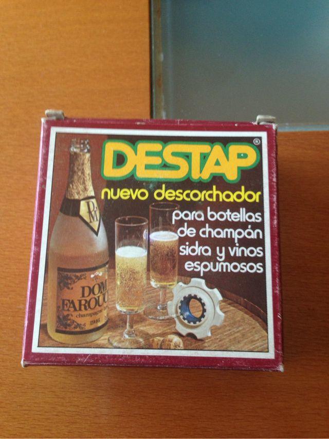 Descorchador para botellas