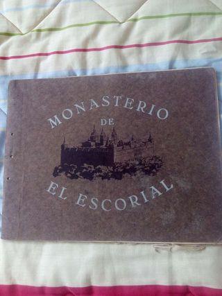 Libro.Monasterio Escorial.17 laminas.Antiguo. Coleccionista.Ocio.Otros.Editado Grafos-Madrid.