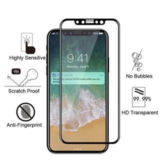 PACK Protector cristal iPhone X + FUNDA transparen