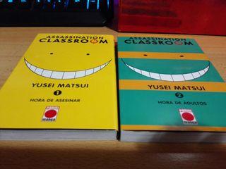 Manga Assassination classroom 1 y 2