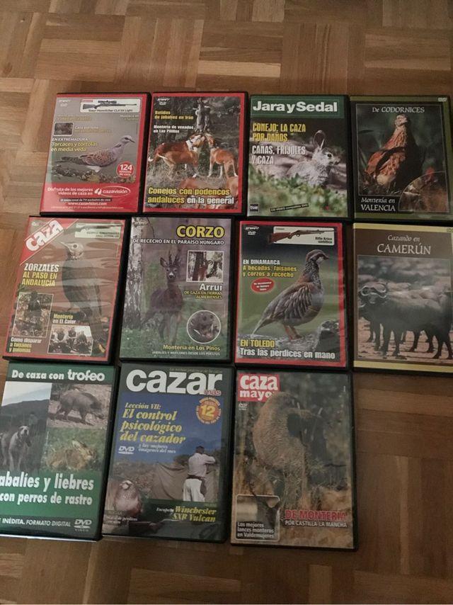 11 dvd de caza