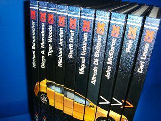Libros 10 libros DEPORTISTAS CON STYLO buen estado