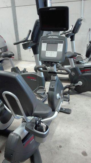 Life Fitness Reclinada Inspire. PANTALLA TACTIL