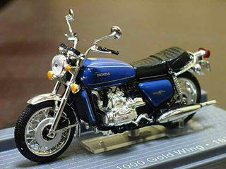 Moto Honda GL 1000 Gold Wing esc. 1/24, Altaya