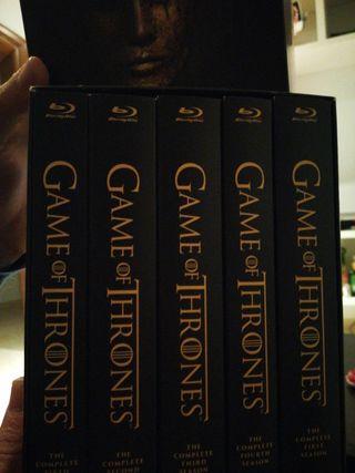 5 temporadas juego de tronos