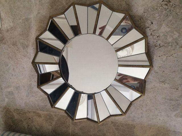 Espejos Diseno 25cm Diametro De Segunda Mano Por 20 En Tomares En - Espejos-diseo
