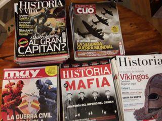 Lote revistas de Historia