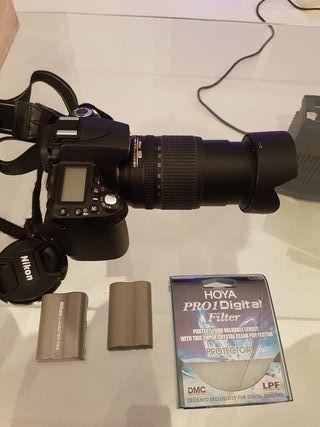 Cámara réflex Nikon D90