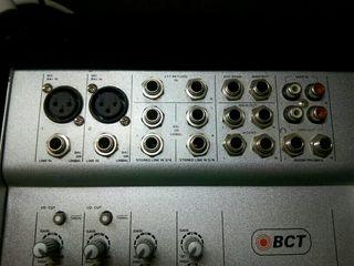 Mesa de mezclas BCT MM602