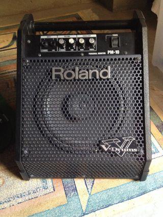 Amplificador roland v-drums