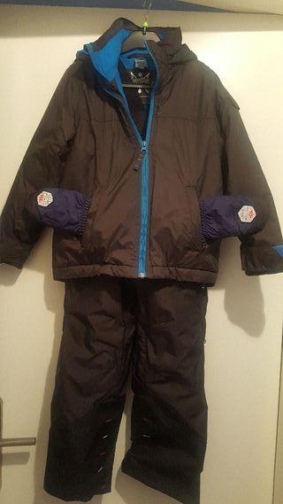 traje esqui niño talla 4