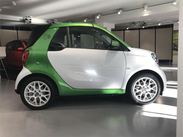 SMART Fortwo Cabrio Electric Drive Passion