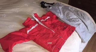 Ropa, esqui, nieve, frío, chaqueta, pantalón