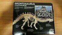 Maqueta de brontosaurio