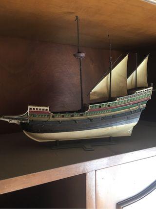 Maqueta barco vintage