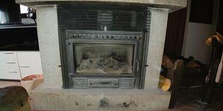 insertable de leña con ventiladores