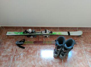 Equipo de esquís
