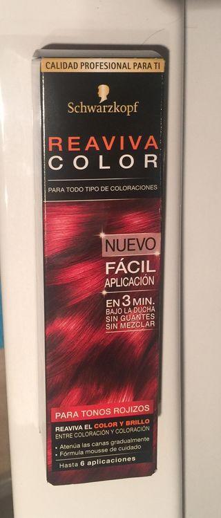 Reaviva color tono rojizo