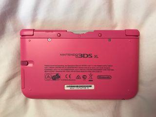 Consola nintendo 3ds XL rosa