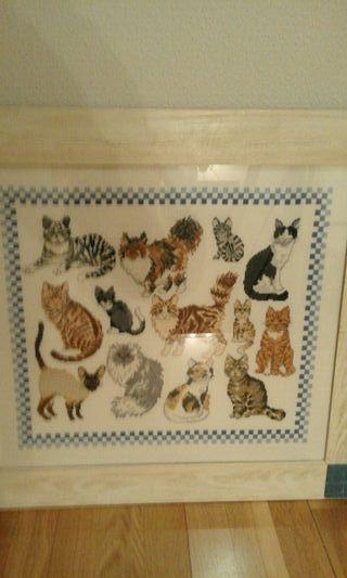 cuadro gatitos