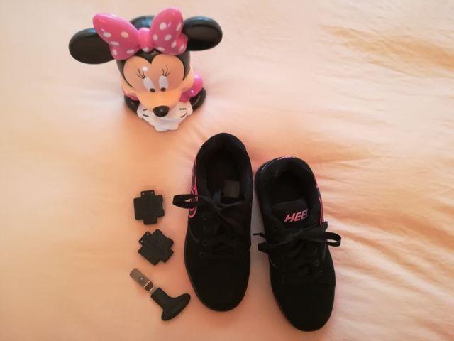 zapatillas ruedas heelys