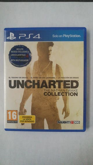 Juego ps4, uncharted