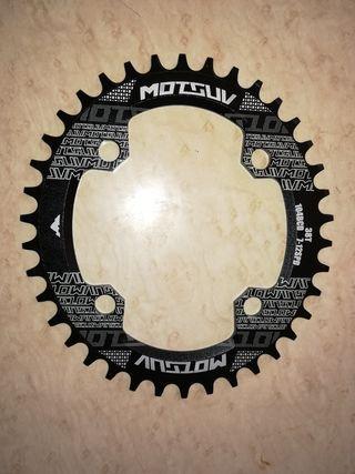 Plato MTB oval 38T