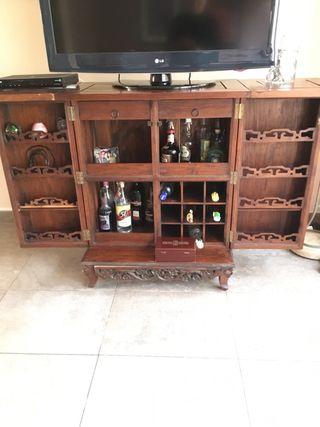Meuble bar de Oromana