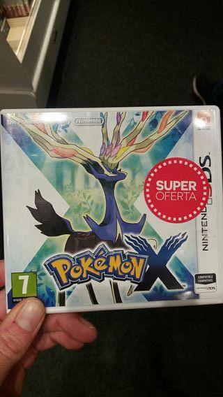 Juego nintendo 3ds. Pokemon X