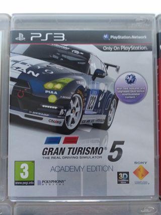 Juego Ps3 Gran Turismo 5 academy edition