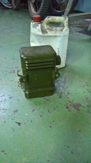 Filtro coche antiguo militar