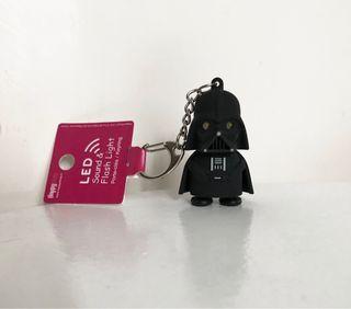 Porte-clés LED Dark Vador neuf