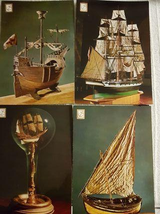 Postales barcos antiguas