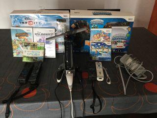 Wii con mandos y juegos incluidos OFERTA NAVIDAD!