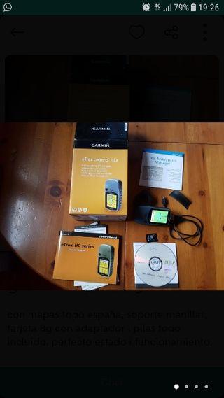 GPS Garmin etrex hcx