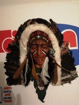 Máscara indio decoracion