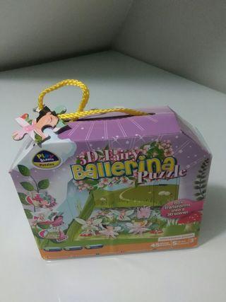 3d FAIRY ballerina puzzle