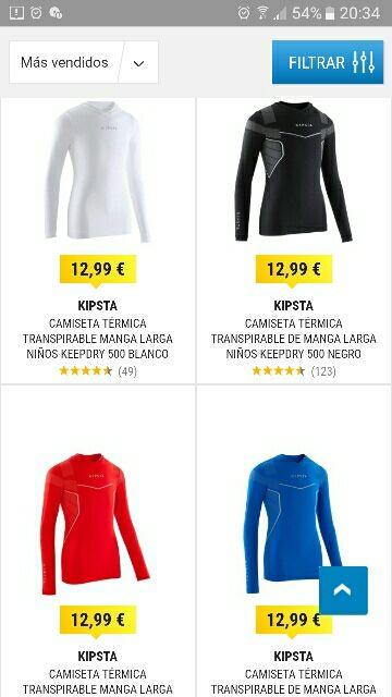 e2fc8ca95 Camiseta térmica niño Decathlon de segunda mano por 4 € en Torrejón ...