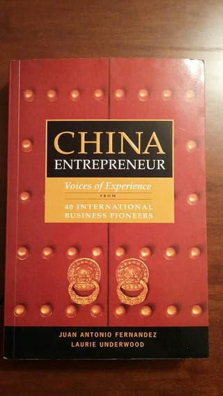 Libro: China Entrepreneur. Libro en Inglés.