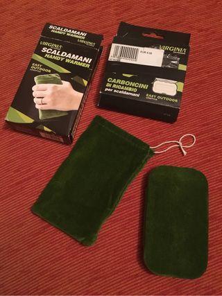 Calienta manos portátil de carbon (Handy warmer)
