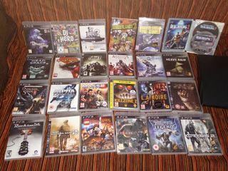 Playstation 3 - con 24 juegos