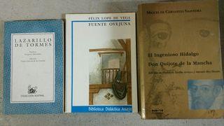 3 clásicos literatura española