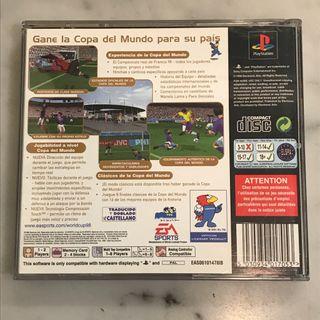 Copa del Mundo 98(Playstation)