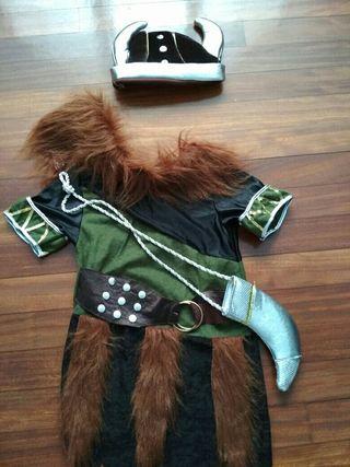 Disfraz vikings talla 9