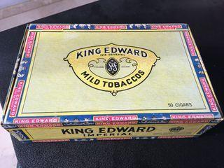 Caja cigarros King Edward