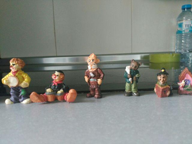 Figuritas resina varios tamaños