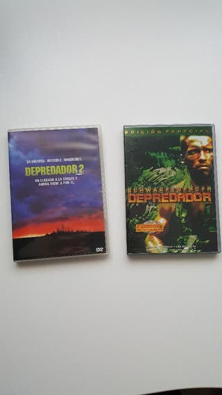 DVD películas Depredador